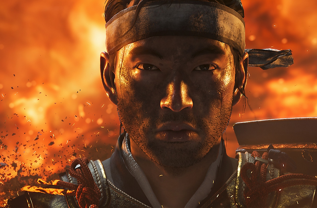 Ghost of Tsushima pack shot