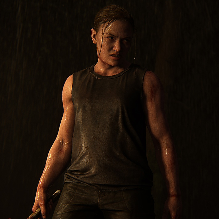 The Last of Us Part II - Abby (render de personaje)