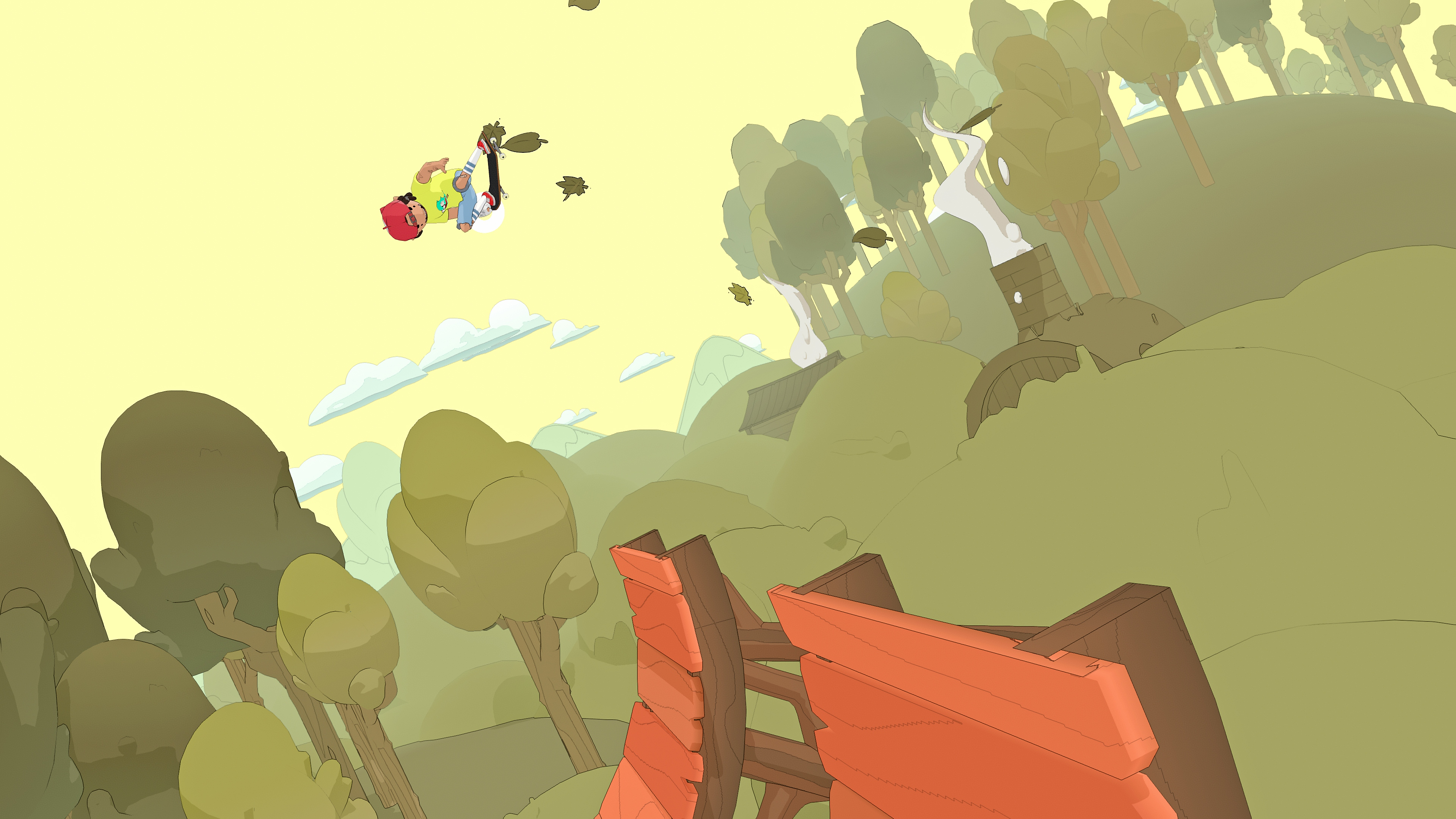 OlliOlli World screenshot