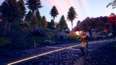 The Outer Worlds - captura de pantalla de gameplay