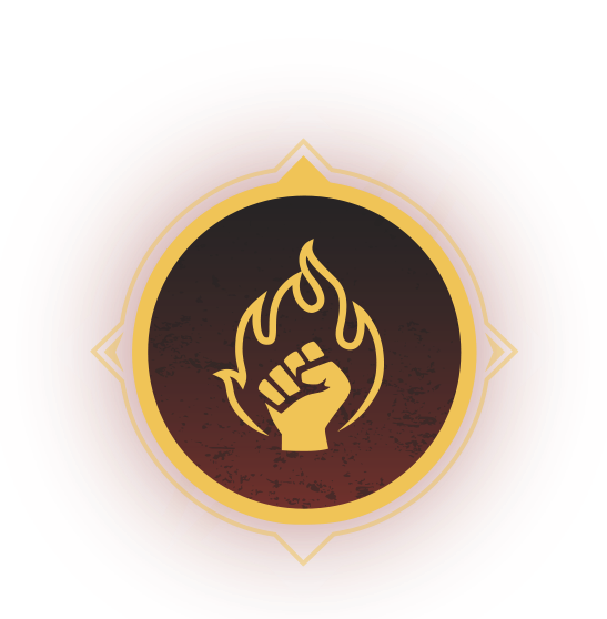 Clase de Outriders - Icono de Piromante