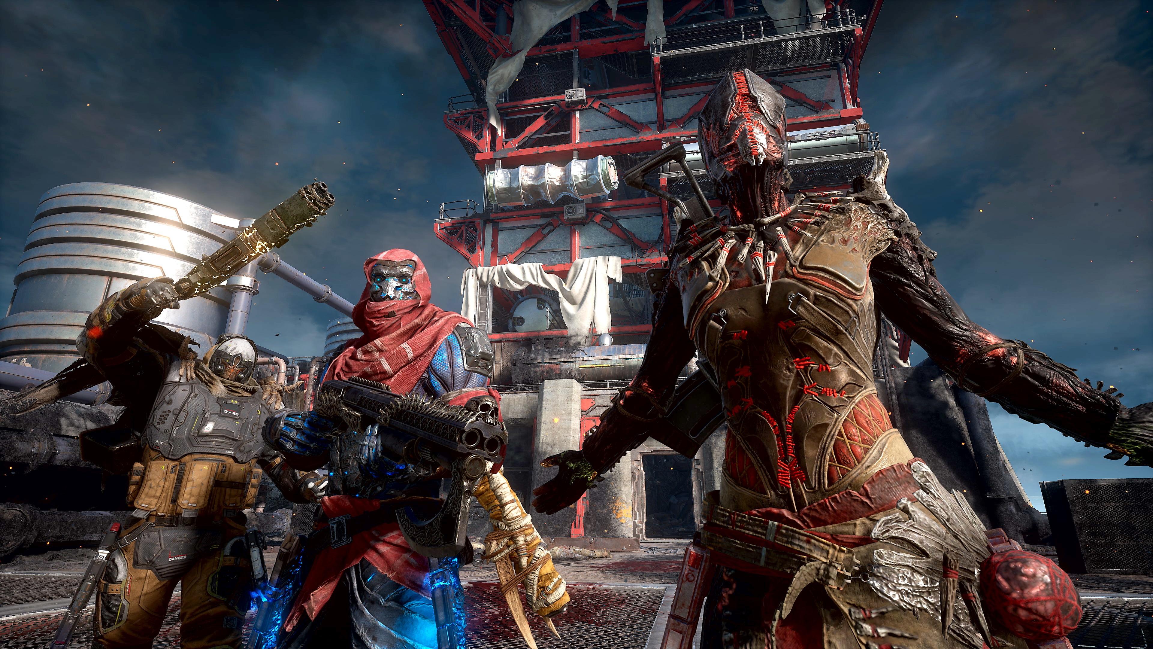 Captura de pantalla de Outriders