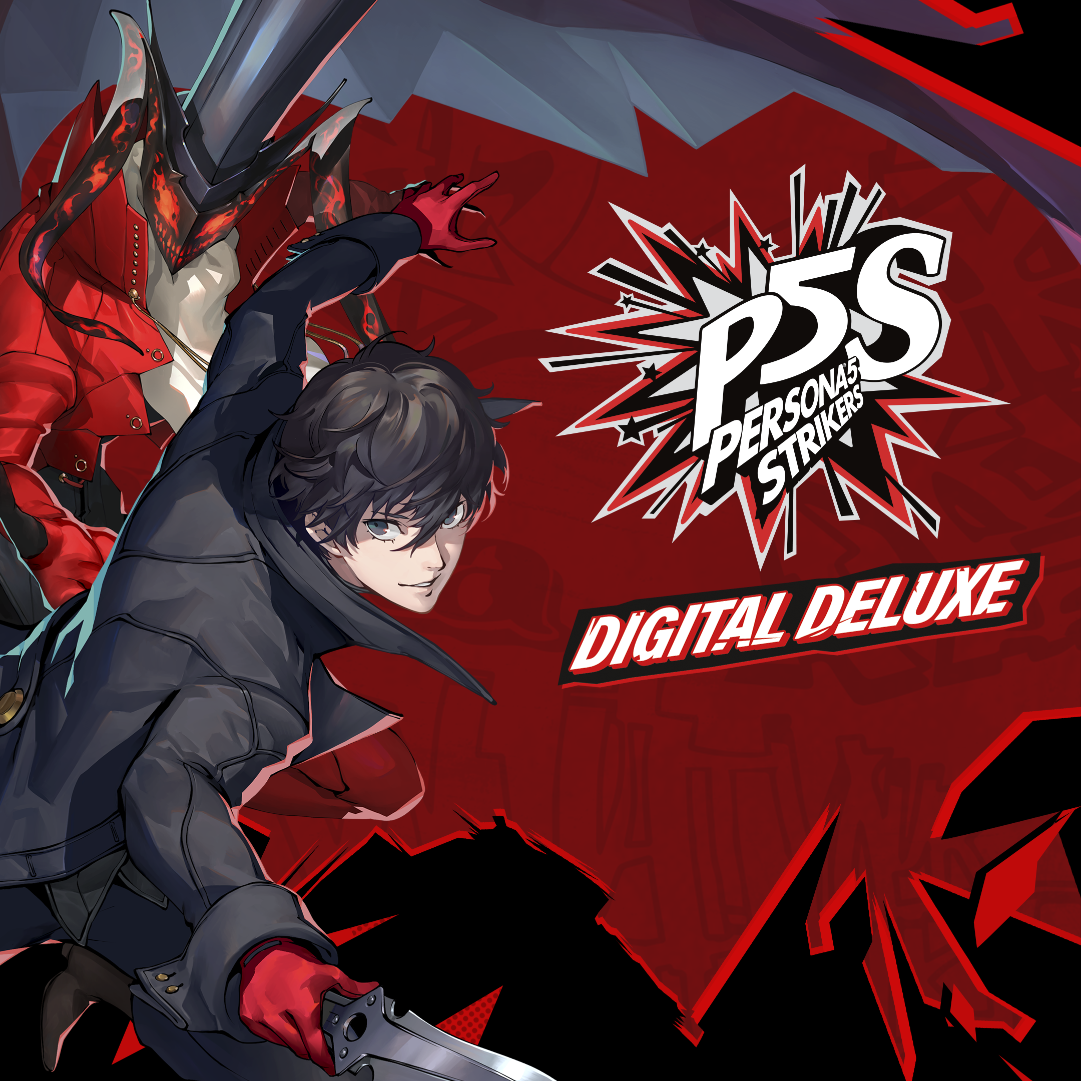 Persona 5 STRIKERS – Digital Deluxe Edition-butiksomslag