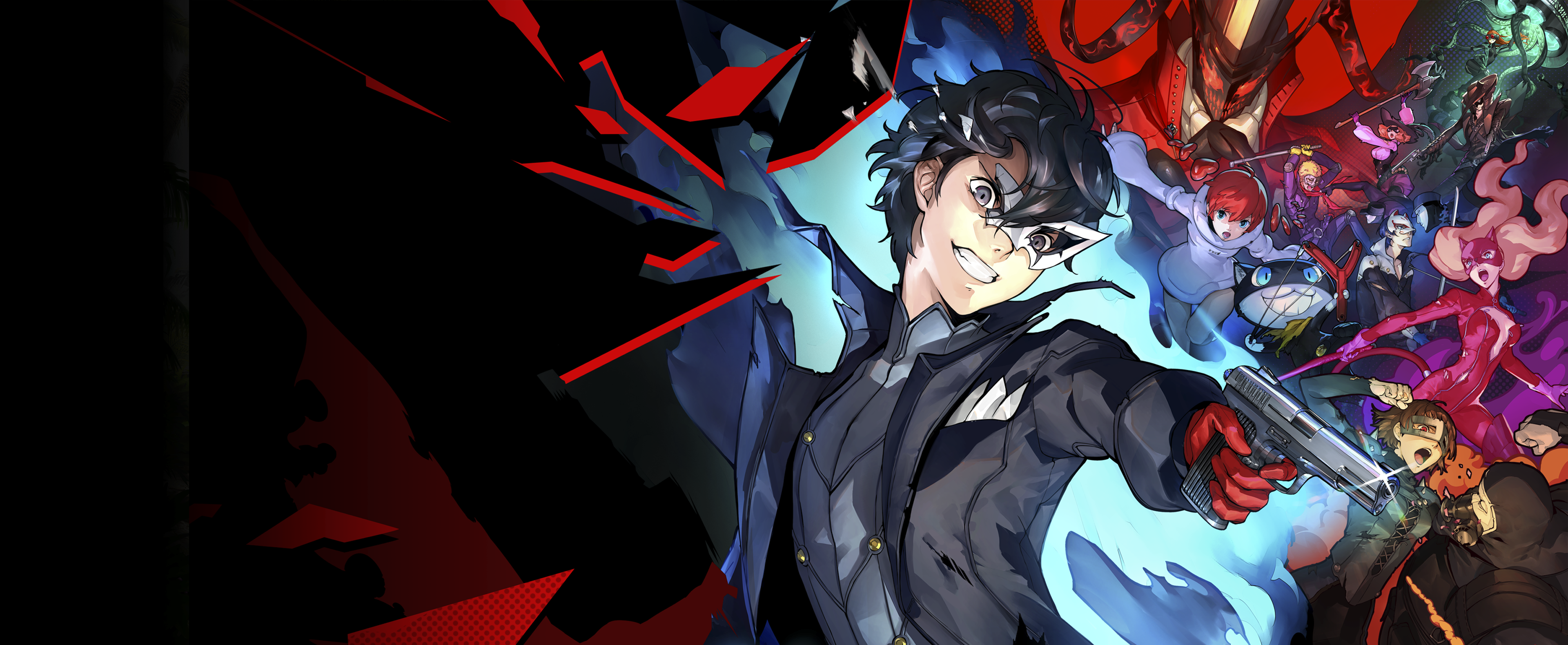 Persona 5 Strikers-key art