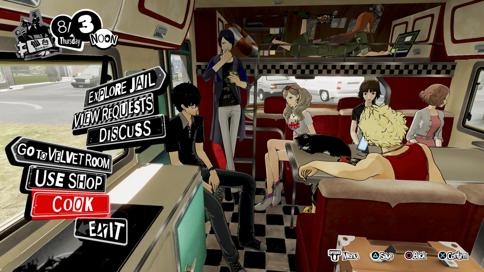 Persona 5 STRIKERS – galleribild 8