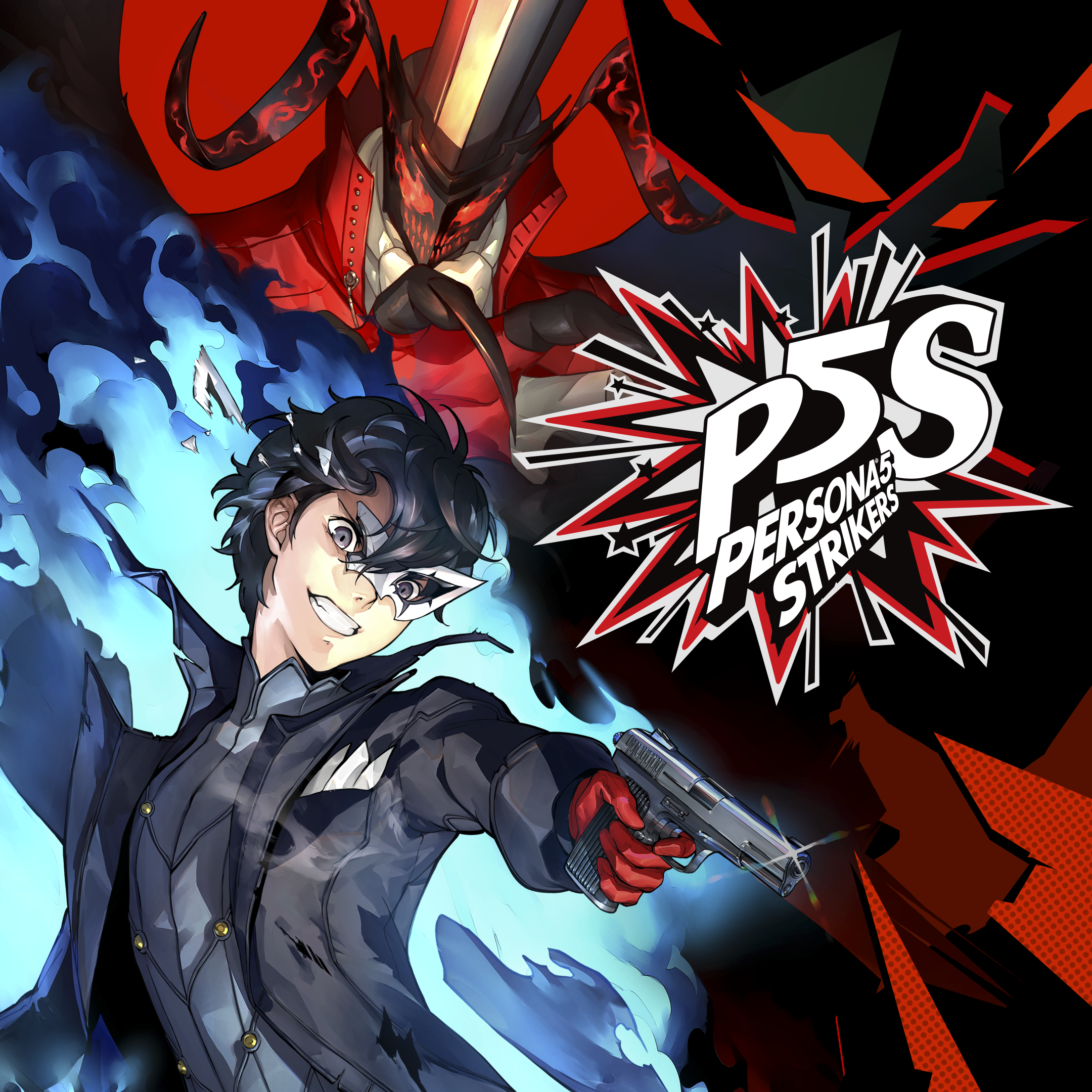 Persona 5 STRIKERS – Standard Edition-butiksomslag