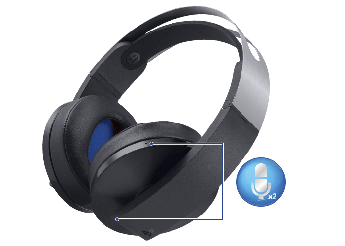 Platinum wireless headset image