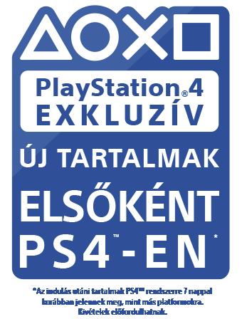 PlayStation exkluzív – Új tartalmak elsőként PS4-en