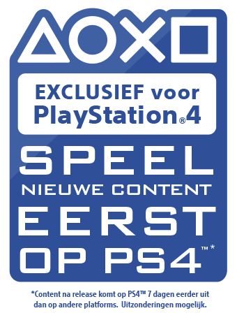 Exclusief voor PlayStation - Speel nieuwe content eerst op PS4