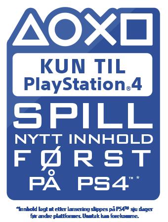 PlayStation-eksklusivt – Spill nytt innhold først på PS4