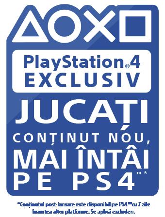 Exclusiv pe PlayStation – Noul conținut apare prima dată pe PS4