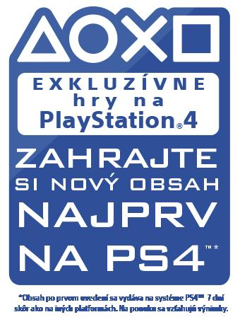 Exkluzívne na PlayStation – Zahraj si nový obsah