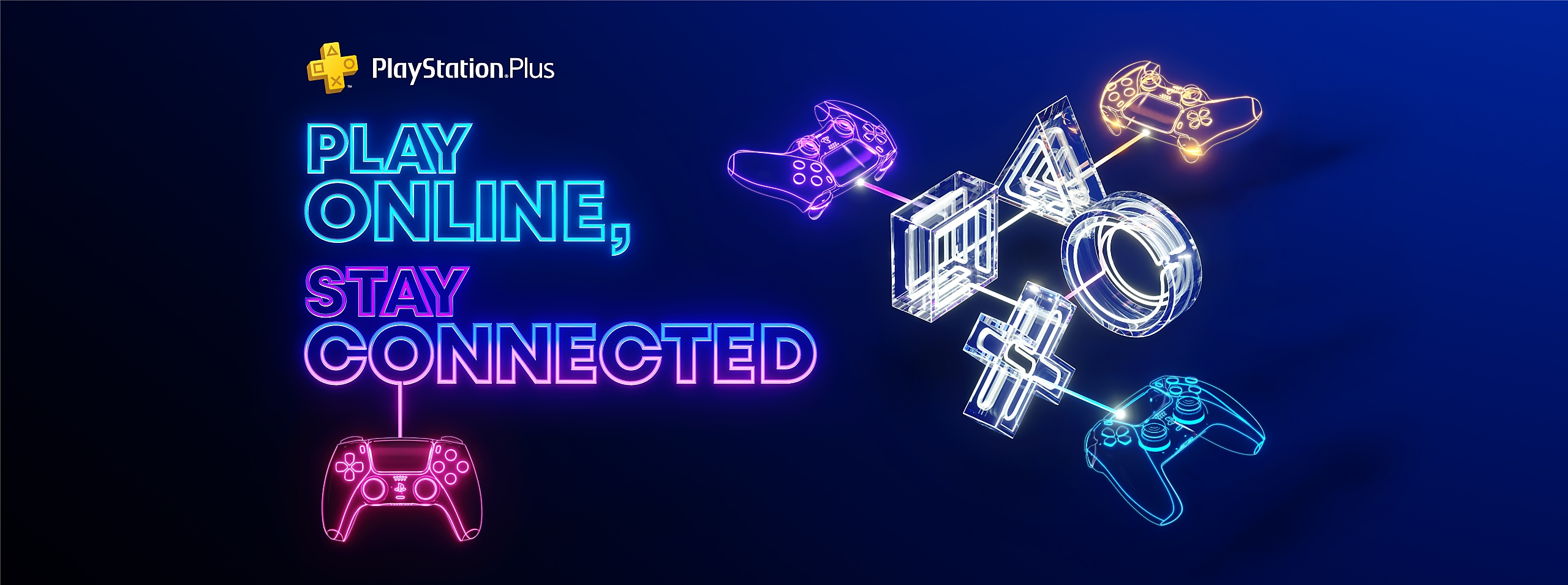 Play Online Stay Connected Campaign banner