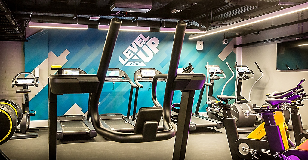 PlayStation London gym