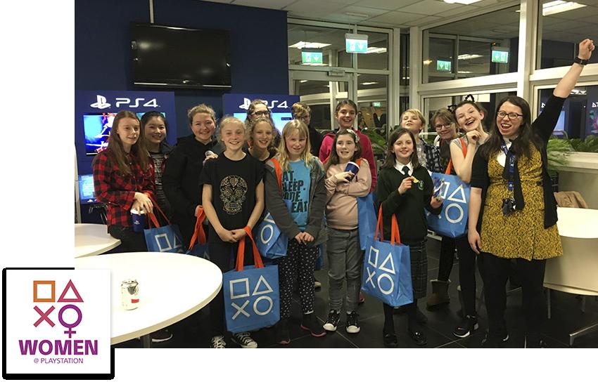 Women at PlayStation