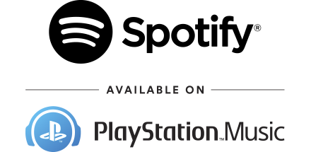 Spotify and PlayStation Music logos