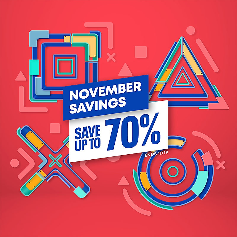PlayStation Store - November Sale