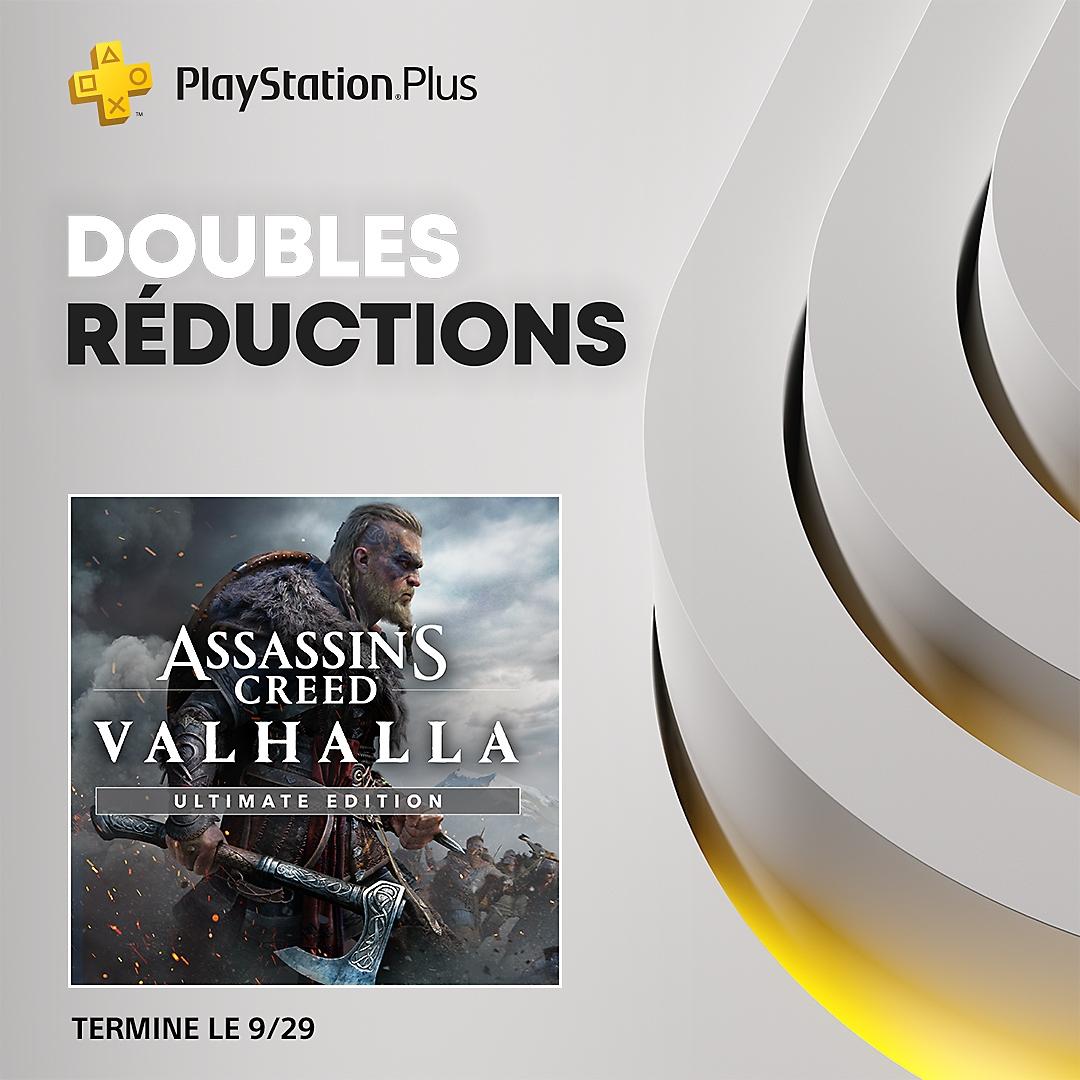 PlayStation Store - Doubles réductions PS Plus