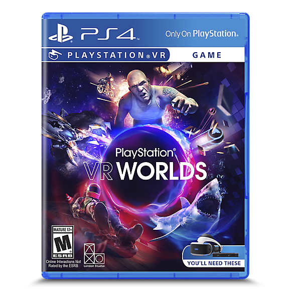 playstation vr worlds blu ray