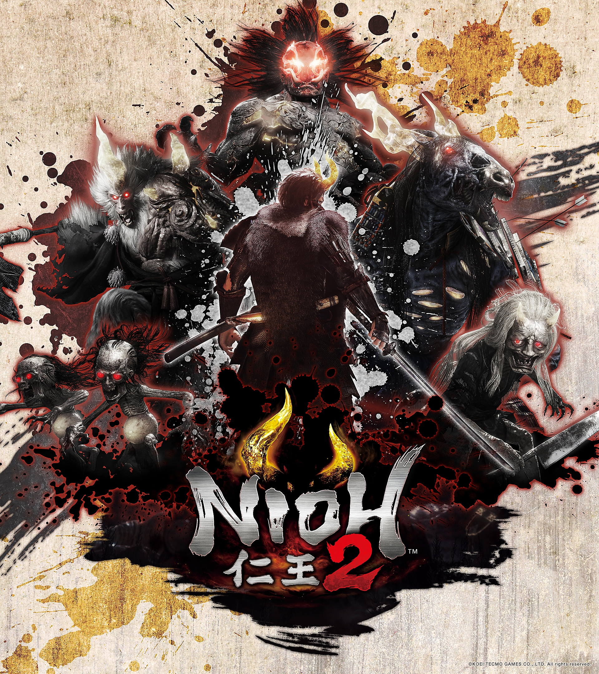 Nioh 2 – Collage – Android – Hintergrundbild