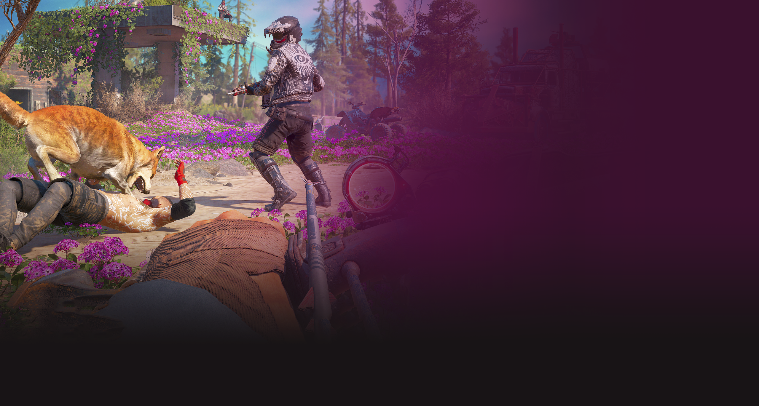 Izjemne postapokaliptične igre za sistem PS4 – Far Cry New Dawn