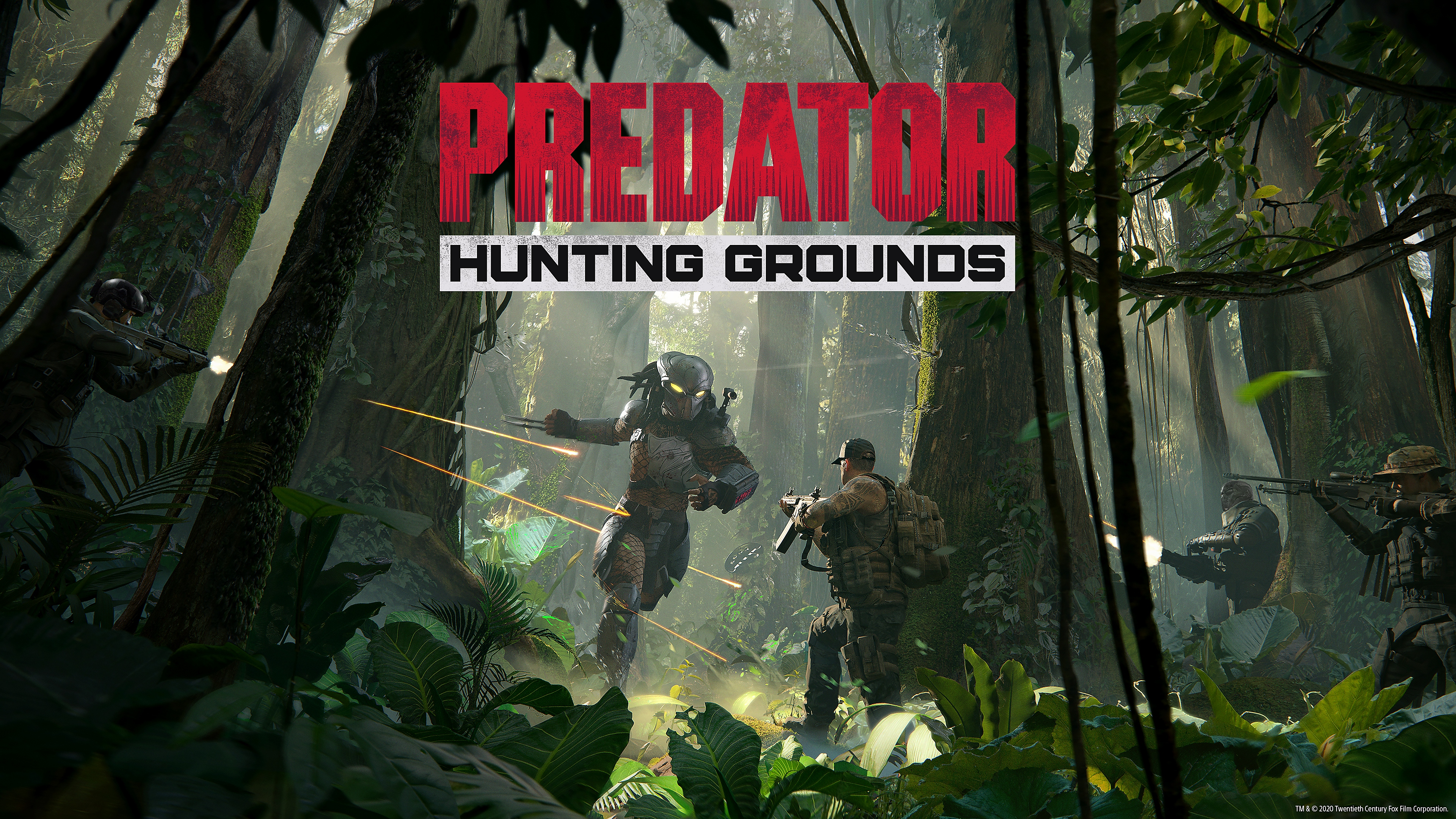 predator hunting grounds wallpaper