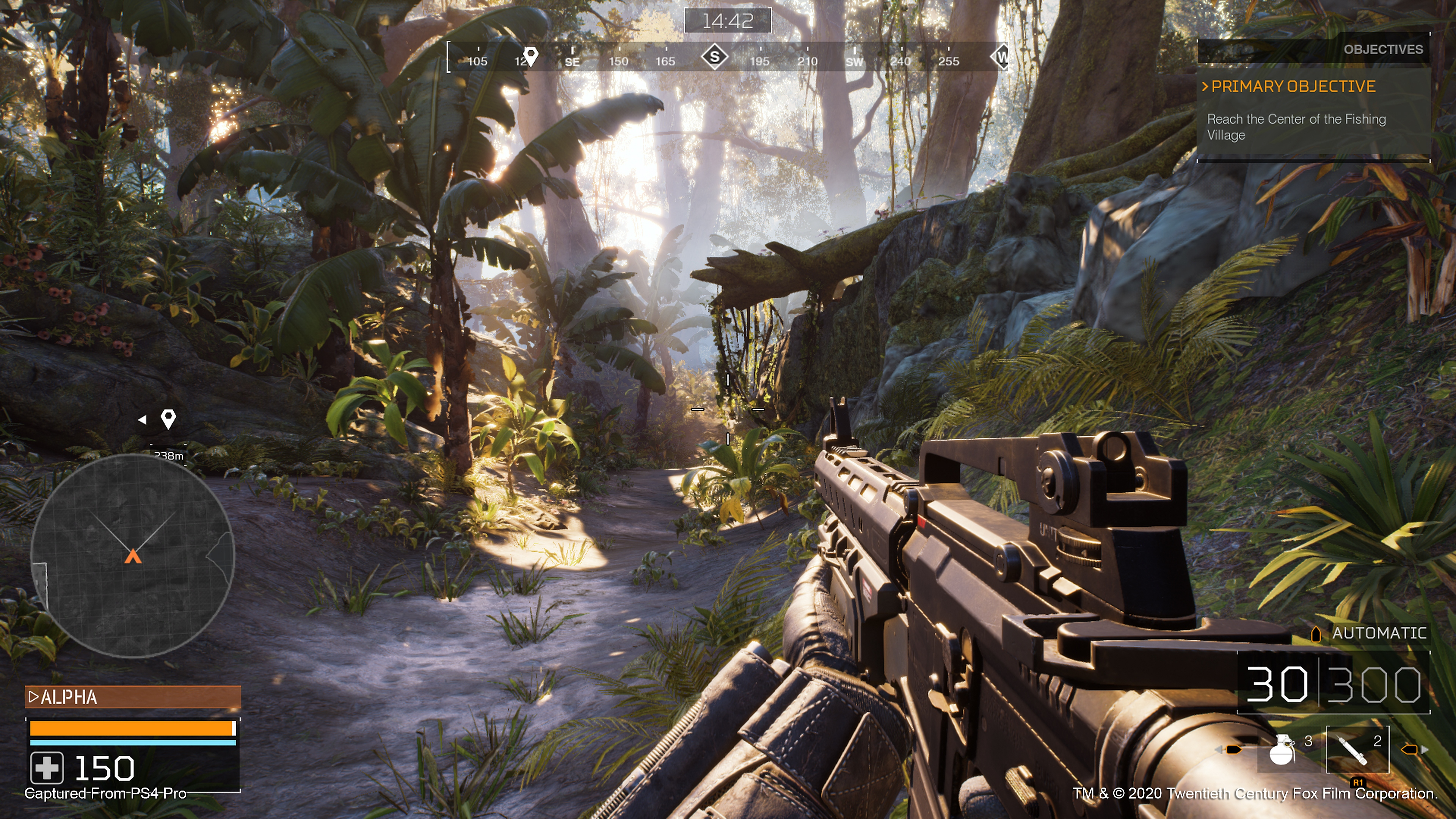 Captures d'écran de Predator: Hunting Grounds