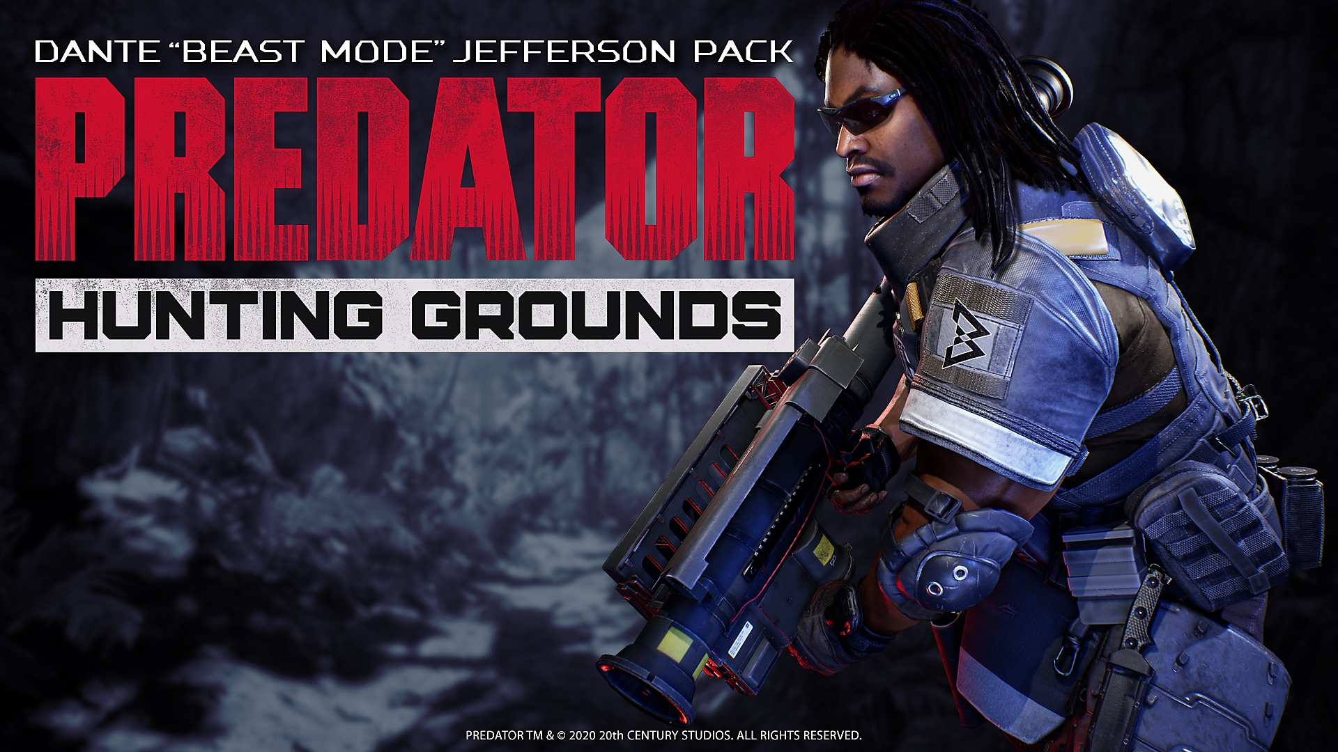 predator hunting grounds dante beast mode jefferson pack dlc