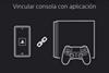Enlazar consola en PS App