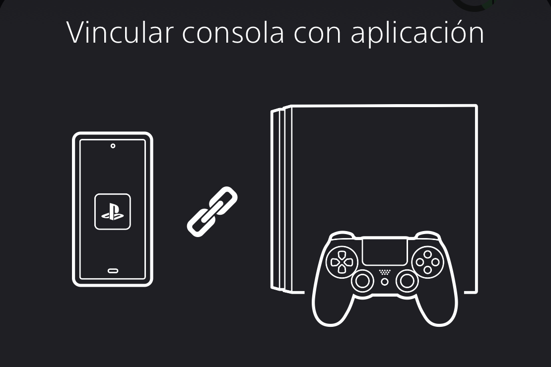 Enlazar consola en PS App