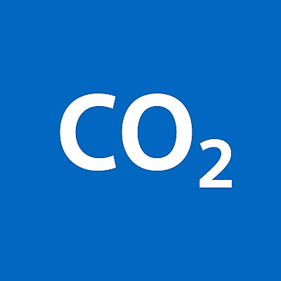 Ikon for CO2-aftryk