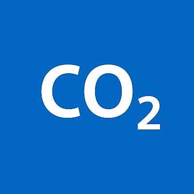 Ícono de huella de carbono