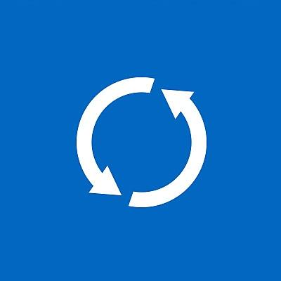 Ikon for ressourceeffektivitet