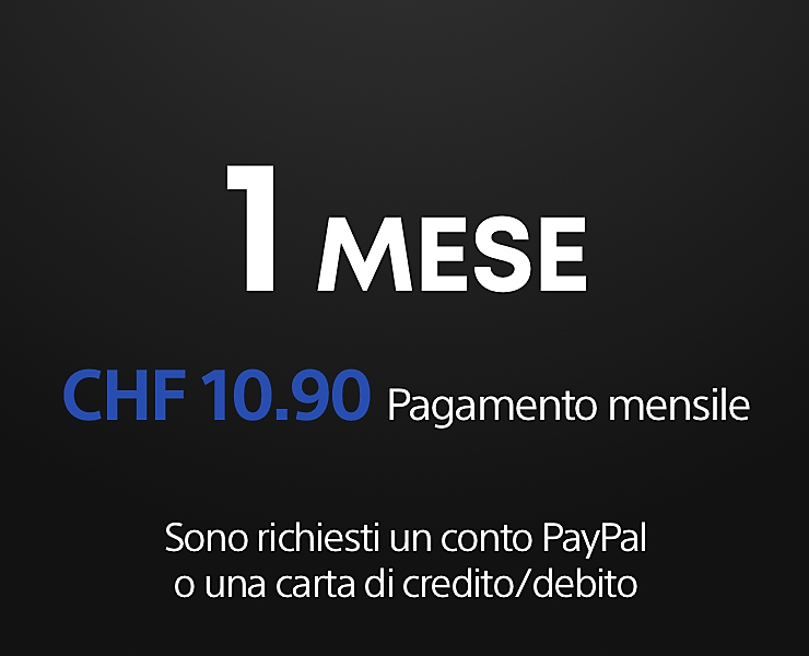 1 mese di PS Now