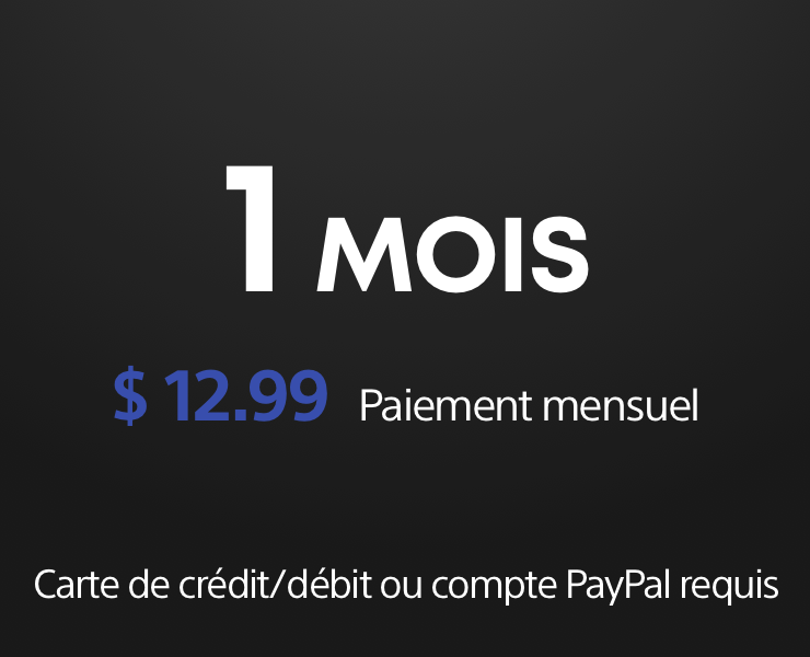 PS Now 1mois