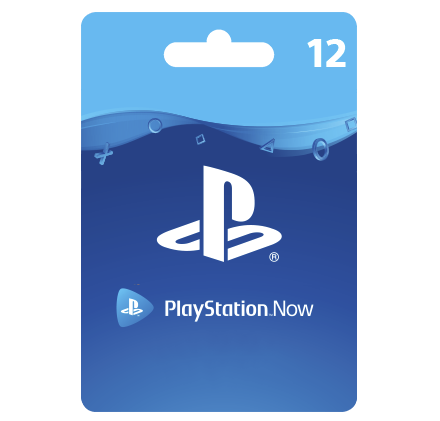 PlayStation Now – 12 месяцев