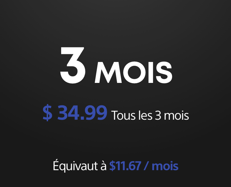 PS Now 3mois