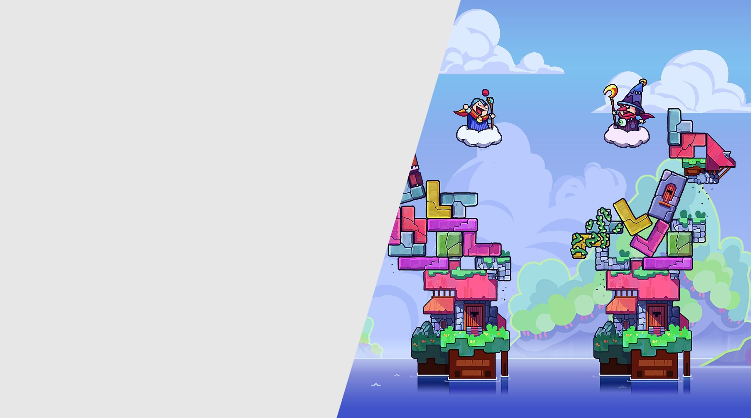 لعبة Tricky Towers
