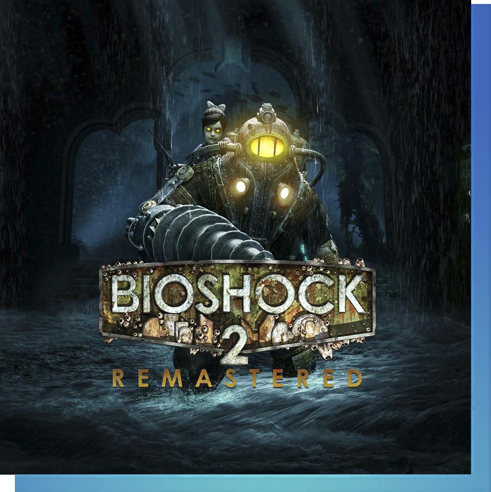 PS Nowで『バイオショック2 リマスター』をプレイ