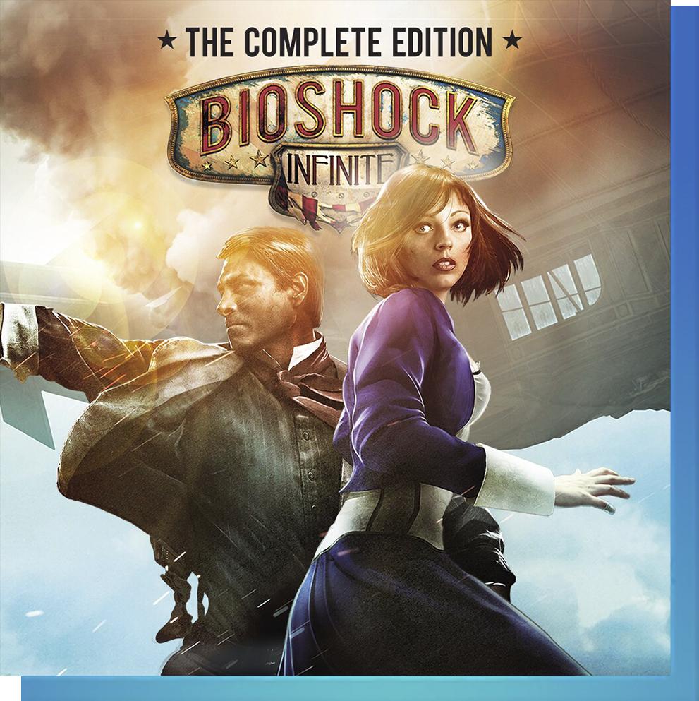 PS Nowで『バイオショック インフィニット コンプリート・エディション』をプレイ