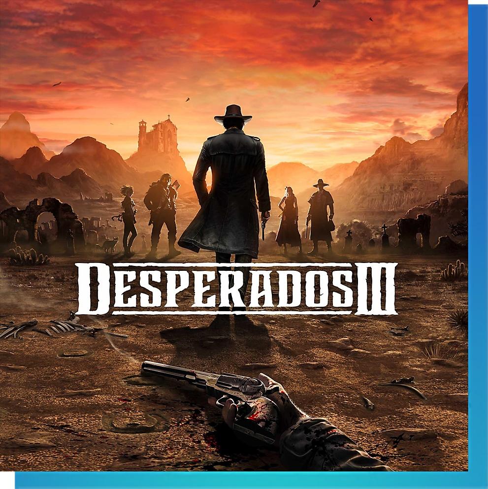 PS Nowで『Desperados III(デスペラードス3)』をプレイ