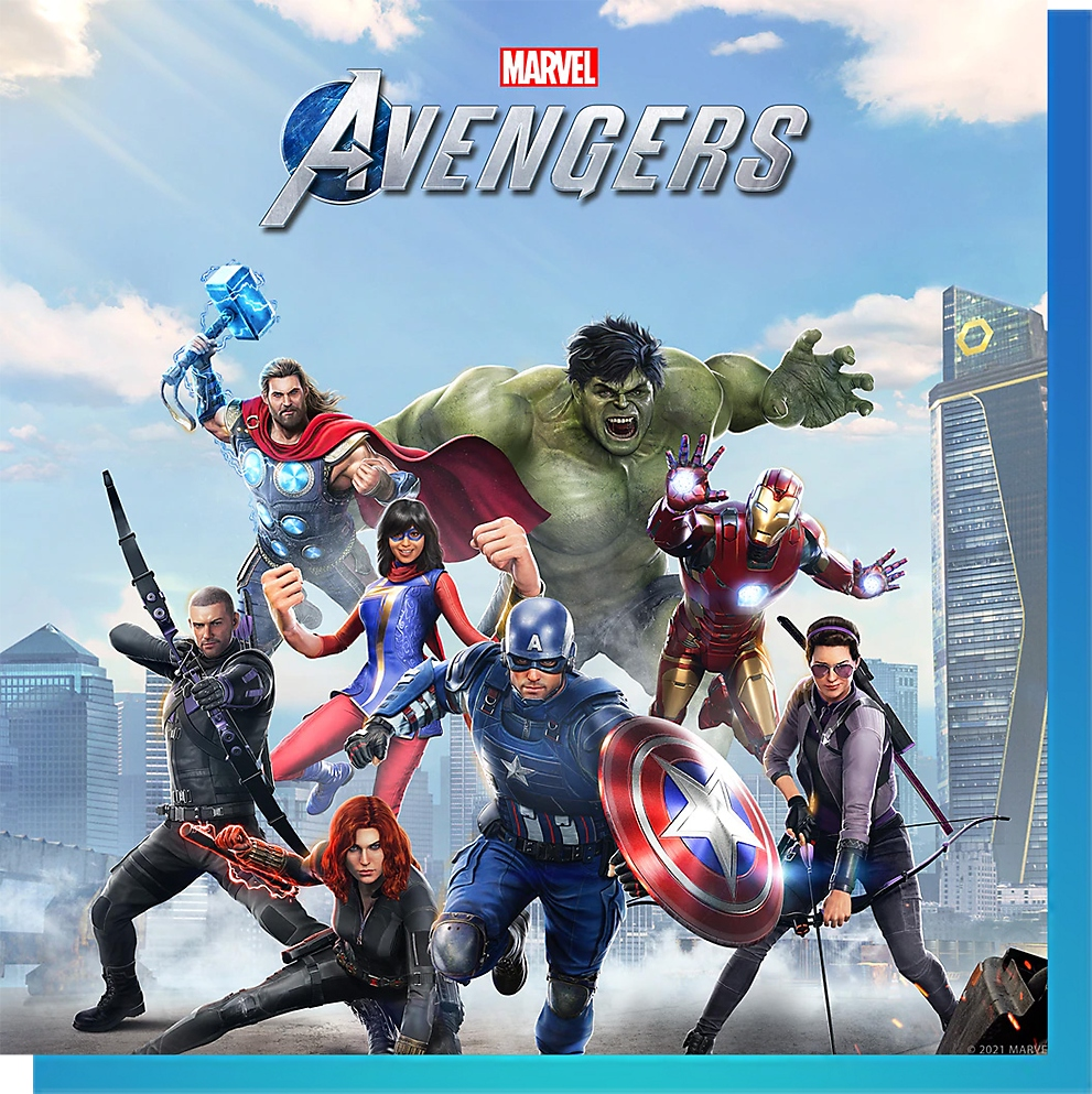 PS Nowで『Marvel's Avengers (アベンジャーズ)』をプレイ