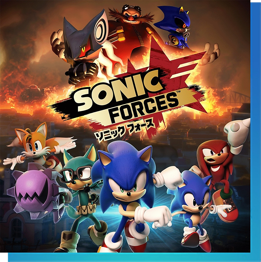 PS Nowで『ソニックフォース 新価格版』をプレイ