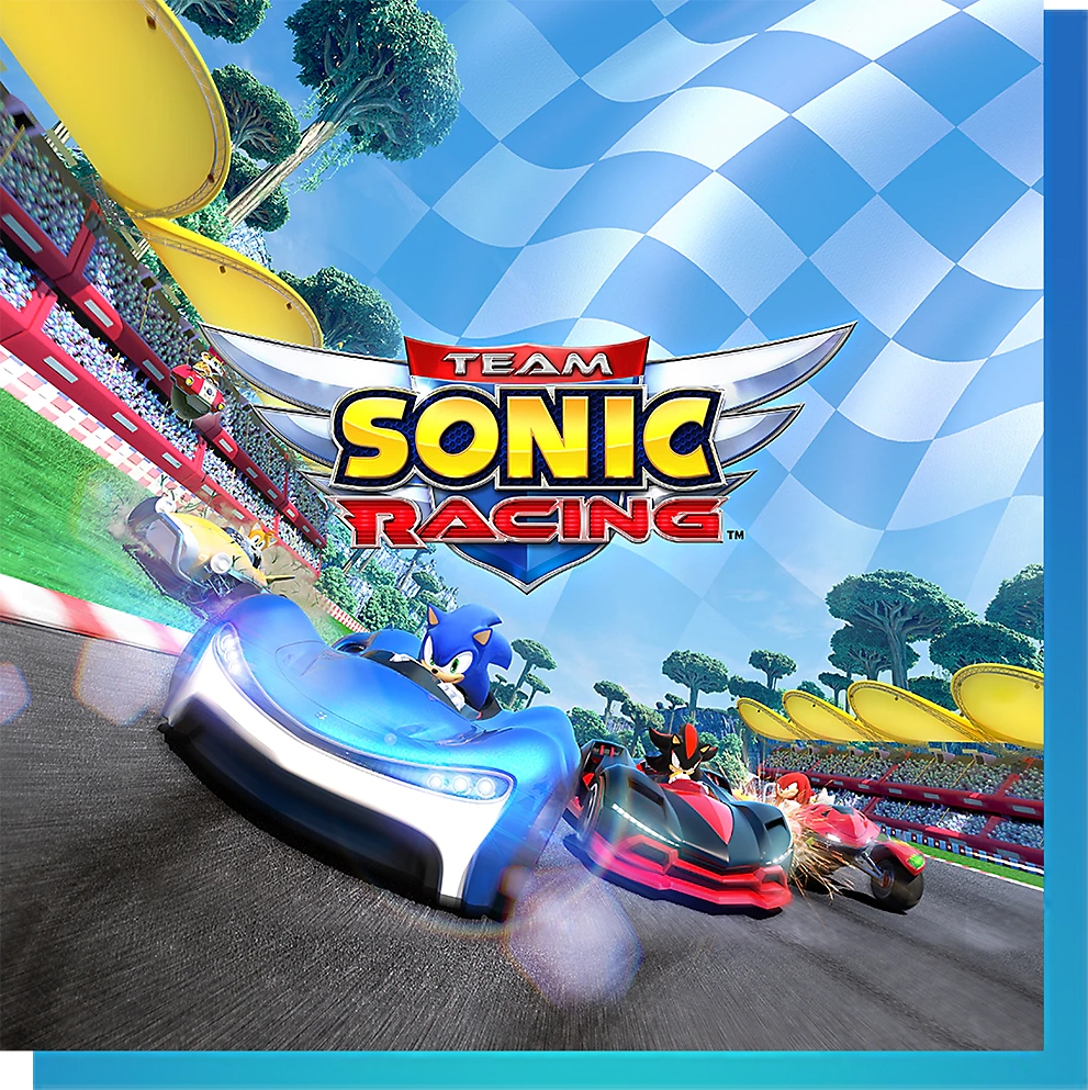 PS Nowで『チームソニックレーシング 新価格版』をプレイ