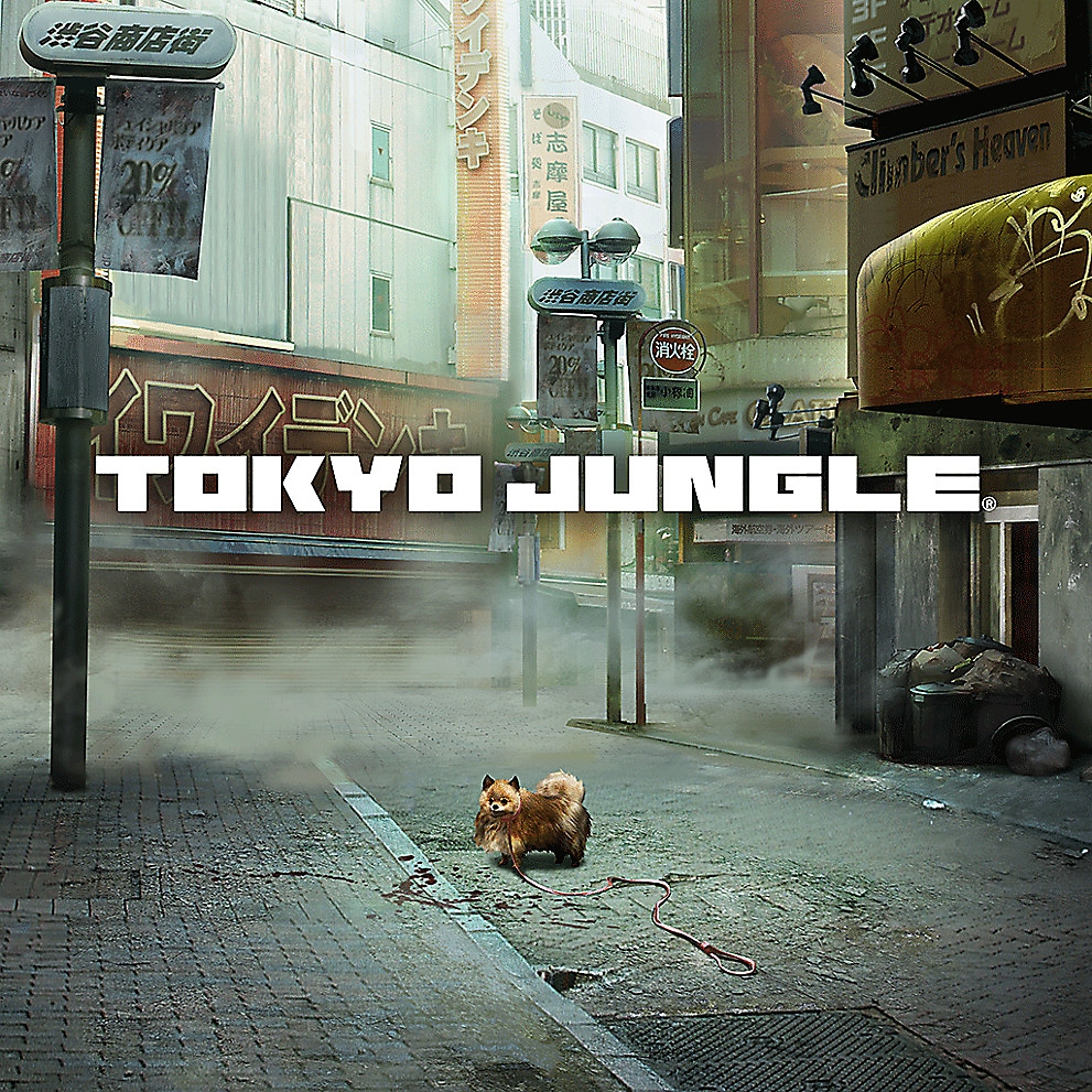 PS Nowで『TOKYO JUNGLE』をプレイ