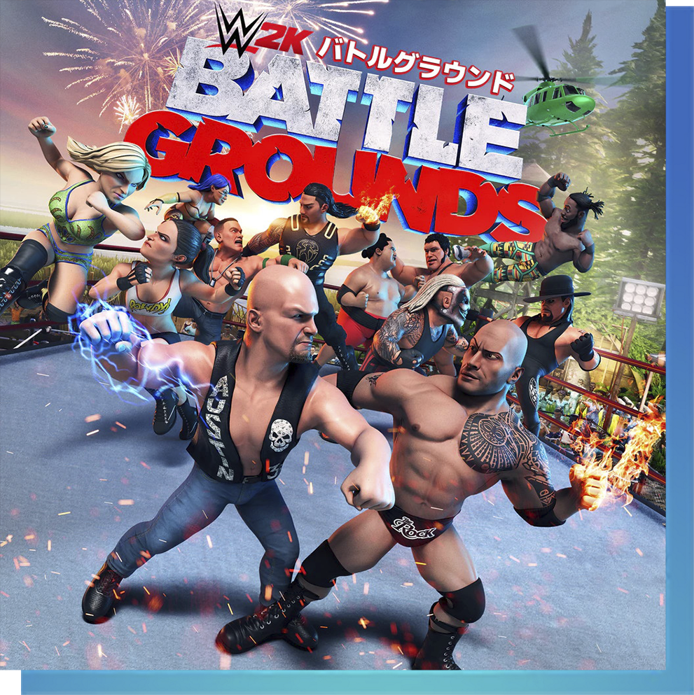 WWE 2K Battlegrounds on PS Now