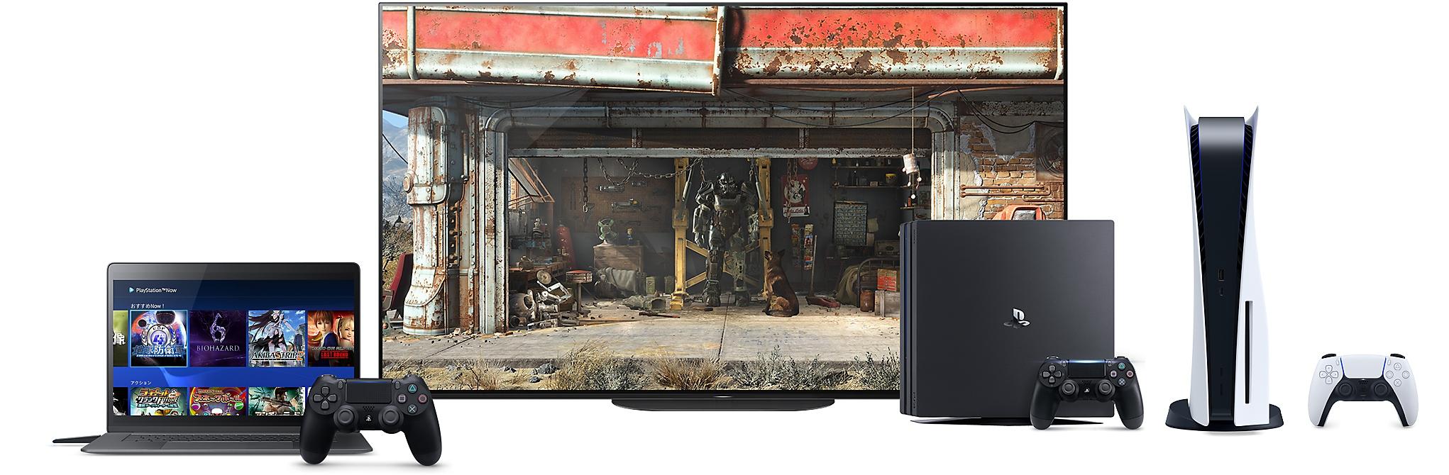 PS Now 対応デバイスの画像