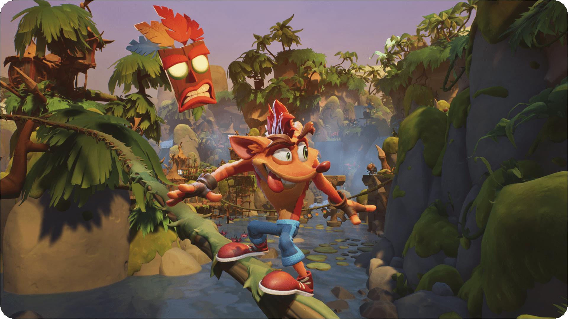 Crash Bandicoot 4: It's About Time – Julkistusnäyttökuva