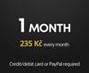 Předplatné služby PS Plus na 1 měsíc