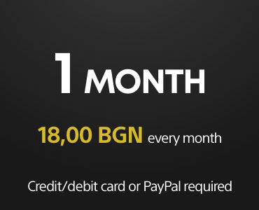 1 month PS Plus subscription